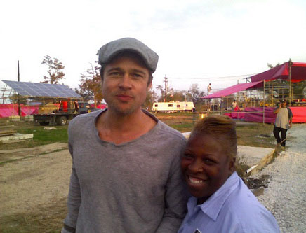 New Orleans…Brat Pitt… y el color Rosa?