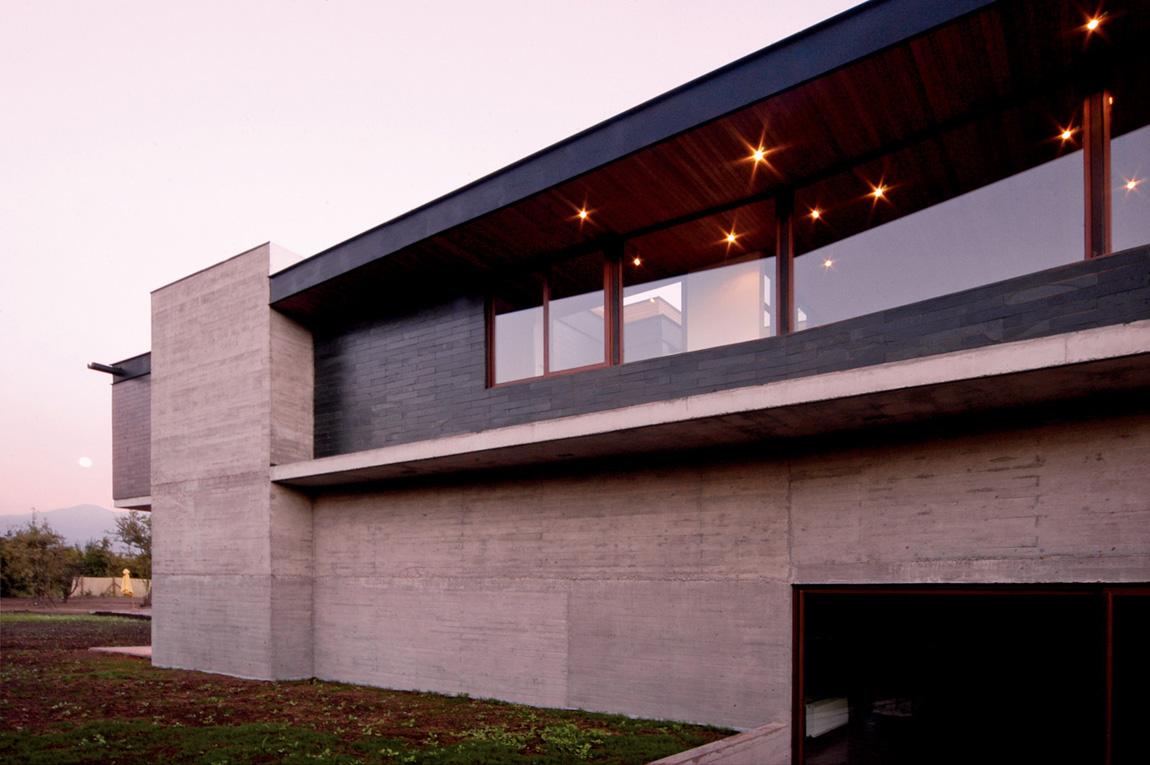 Casa Carvallal - Dufey, Mas y Fernández Arquitectos - Chile