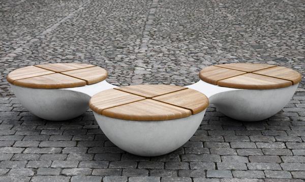 Mobiliario urbano union bench i do design simbiosis news for Mobiliario urbano tipos