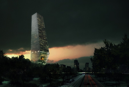 Torre Bicentenario - Ciudad de México - OMA
