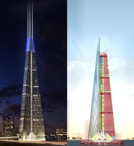 Russia Tower – Norman Foster