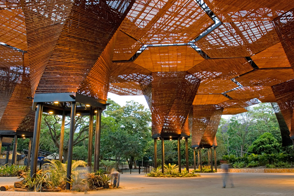 Orquideorama plan b arquitectos colombia simbiosis news for Arquitectura moderna en colombia