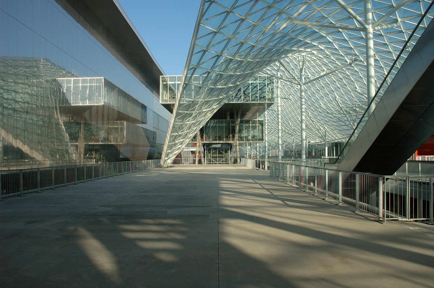 Salón Del Mueble Milán 2008 -Massimiliano Fuksas