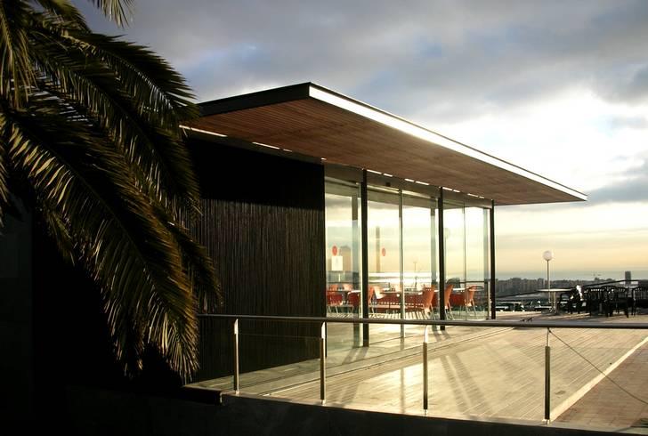 Pabellón y Jardín en Montjuic - fondaRIUS arquitecture -  Barcelona