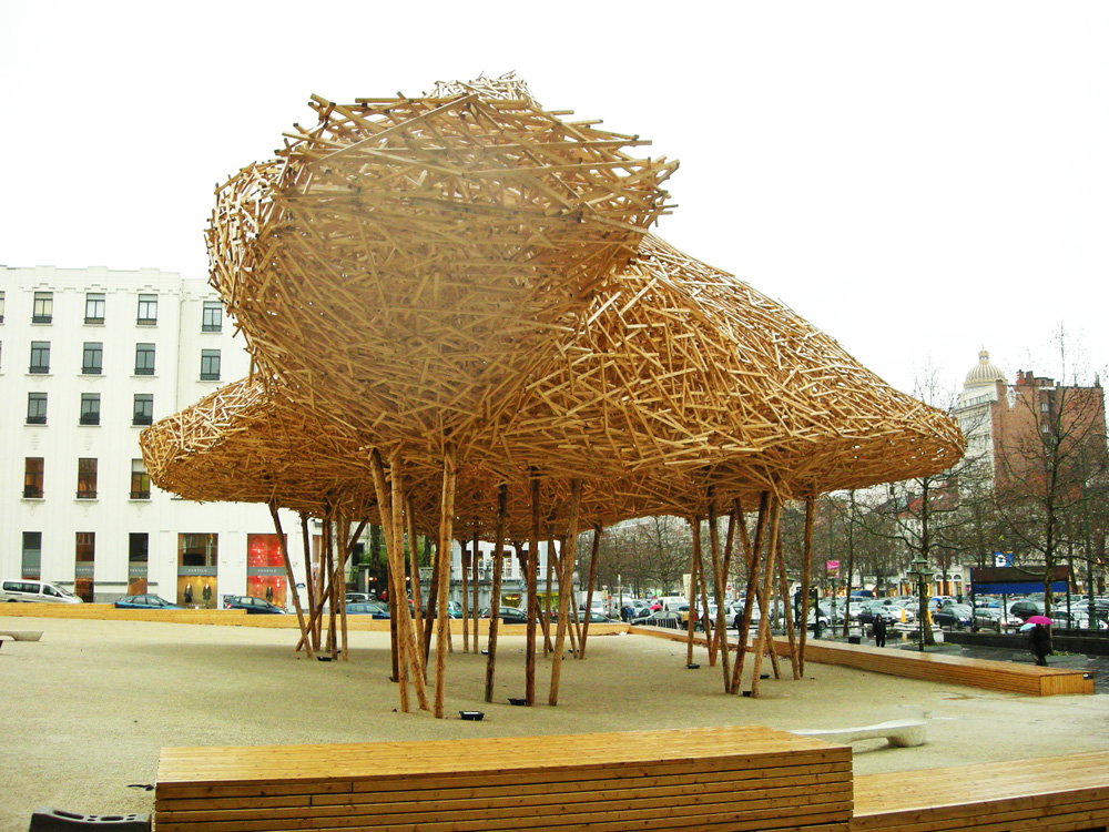 Cityscape - Arné Quinze - Bruselas