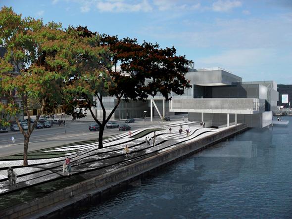 Bryghusgrunden Uso Mixto - OMA -  Copenhagen