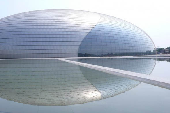 Gran teatro Nacional de  China  -  Paul Andreu