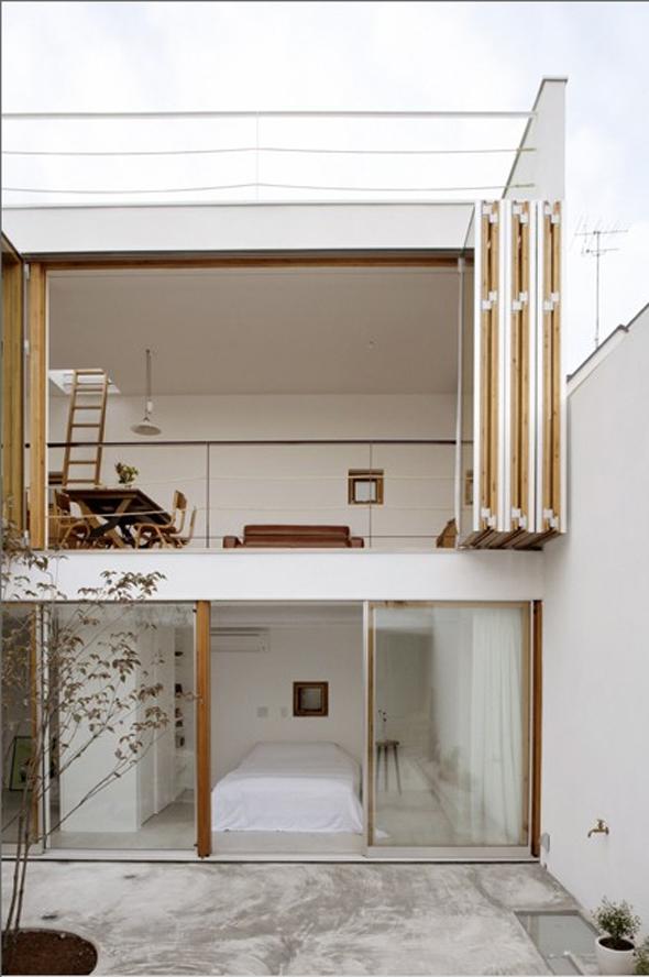 Garden House - Takeshi Hosaka architects - Yokohama - Japón
