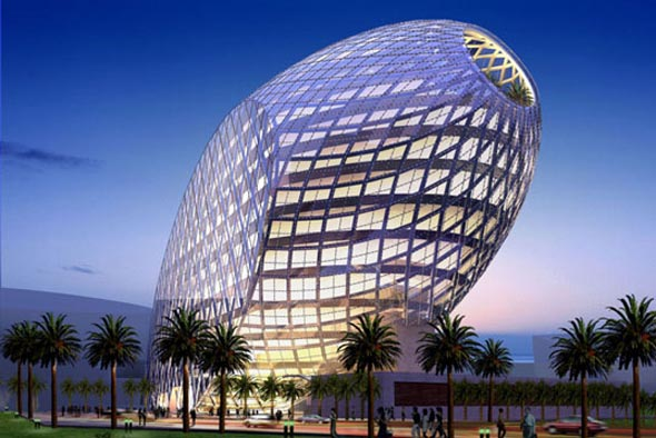 James Law's -  High Tech \'Cybertecture\'  -  Mumbai India