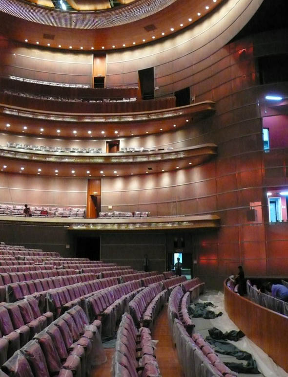 Gran Teatro Nacional de China Beijing National Centre for the Performing Arts Theatre