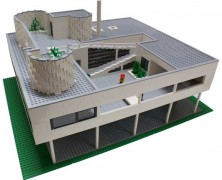 Le Corbusier – Villa Savoye – LEGO