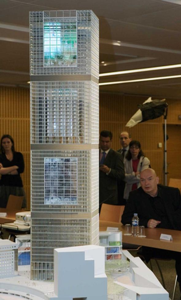 Tour Signal en París - Jean Nouvel gana el concurso