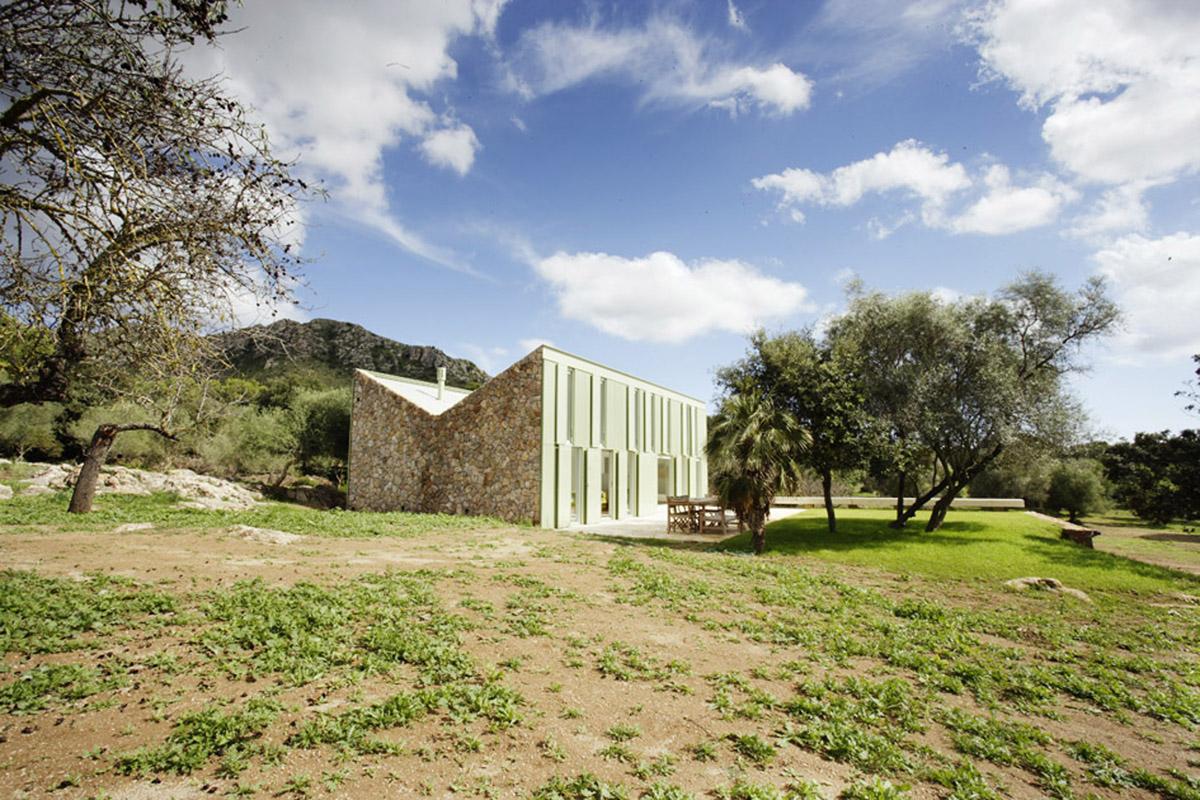 Casa en el campo juan herreros arquitectos mallorca - Arquitectos en espana ...