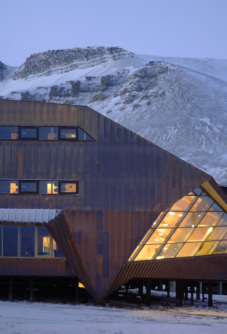 Svalbard Science Center - JVA - Longyearbyen -  Noruega