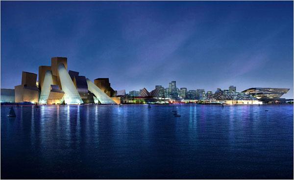 Frank Gehry, Abu Dhabi