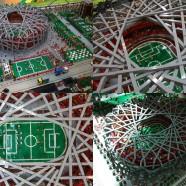 Bird Nest de Herzog y de Meuron en Lego