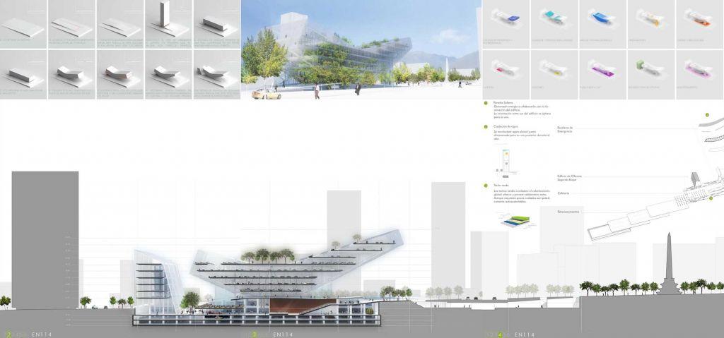 Ganador concurso internacional de arquitectura caf 2008 for Arquitectura tecnica a distancia