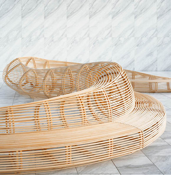 Banca Oriental Group:Frank Gehry Bench