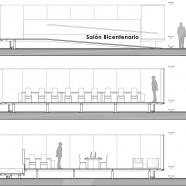 Salón Bicentenario, Biblioteca Nacional - A+F Arquitectos - Chile