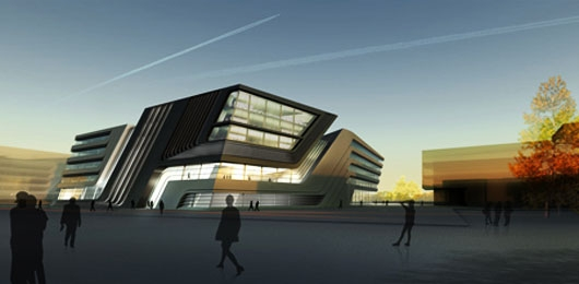 Zaha - The Library and Learning Centre (LLC) University of Economics & Business - Viena