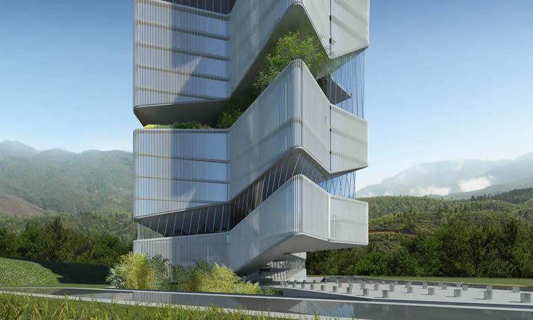 Guiyang Huaxi Urban Center -  Dieguez Fridman - China