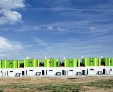 21 terraced Houses – Vallo & Sadovsky Architects – Eslovaquia