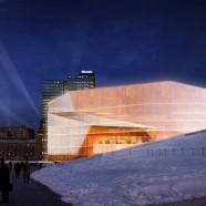 Deichman Library - Diagonale - Lund Hagem Arkitekter, Atelier Oslo