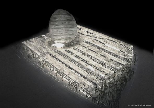 Nueva sede BBVA -  Herzog & de Meuron - España