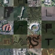 Google Earth Typography???
