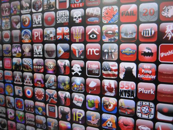 Mural de Apps  - Apple - US