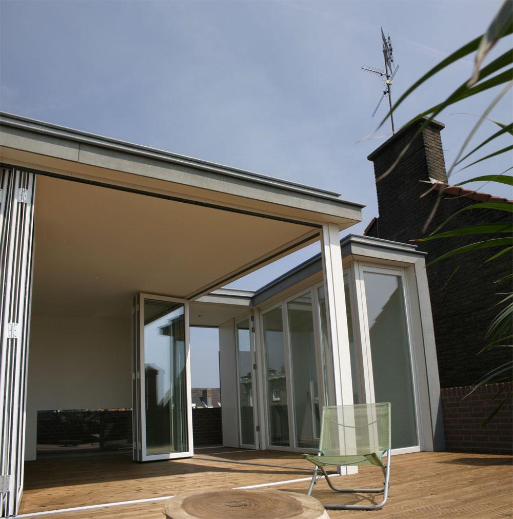 Roof Garden Pavilion - Hoogte Twee Architecten - Holanda