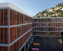 Paul Valery High School – N+B Architectes – Francia