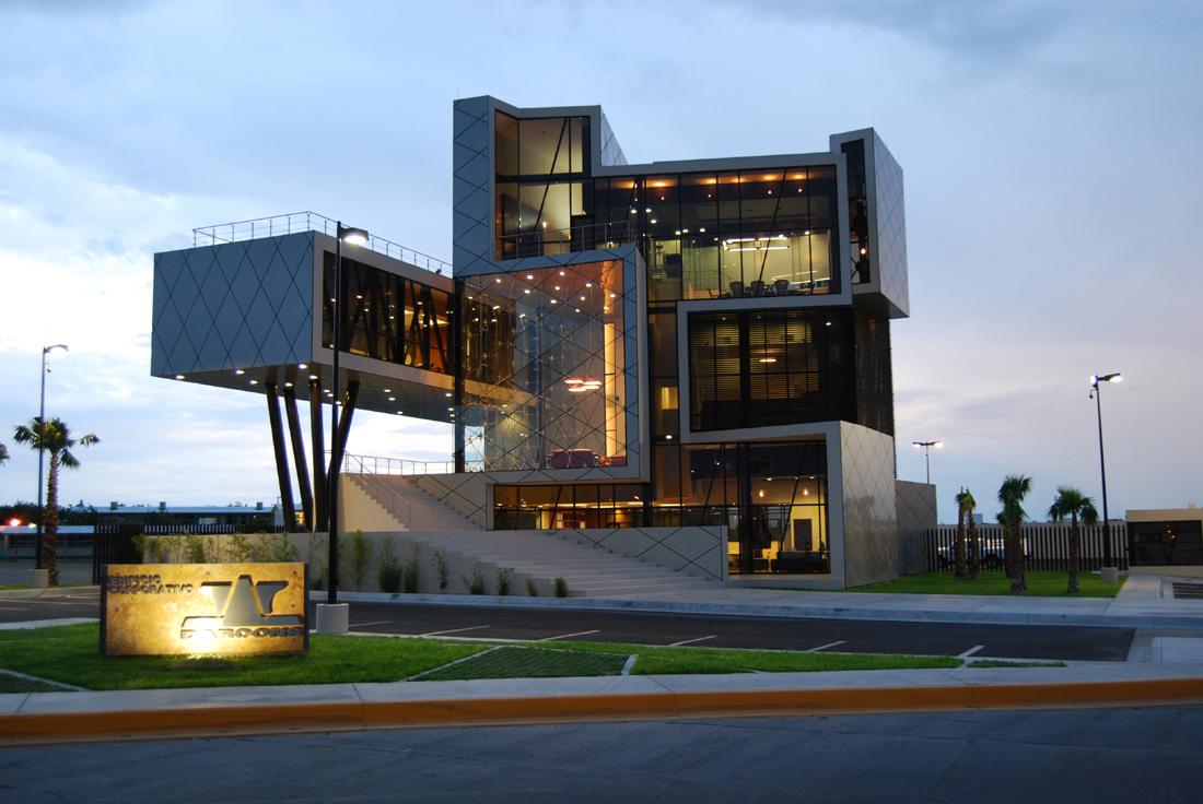 Sede principal darcons arquitectura en proceso mexico - Fotografia arquitectura ...