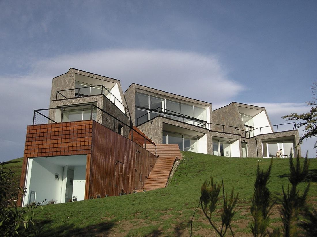 Casa en la monta a alric galindez arquitectos for Casa en la montana