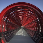 Railway Footbridge at Roche-sur-Yon  - HDA & Bernard Tschumi - Francia