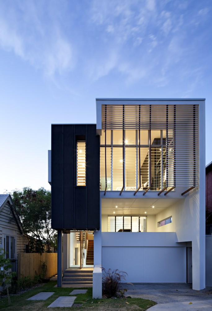 Small Street House Base Architecture Australia