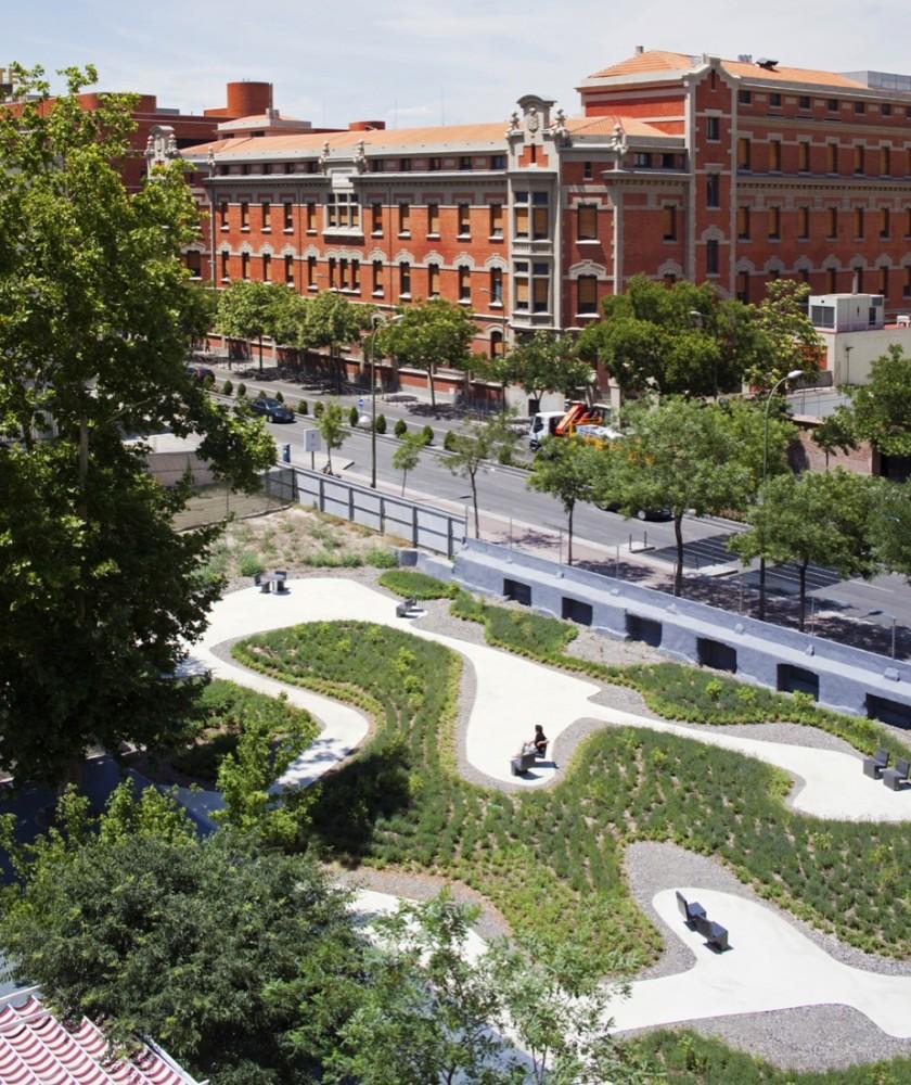 Jardín O'Donnell - Estudio Caballero Colón - España