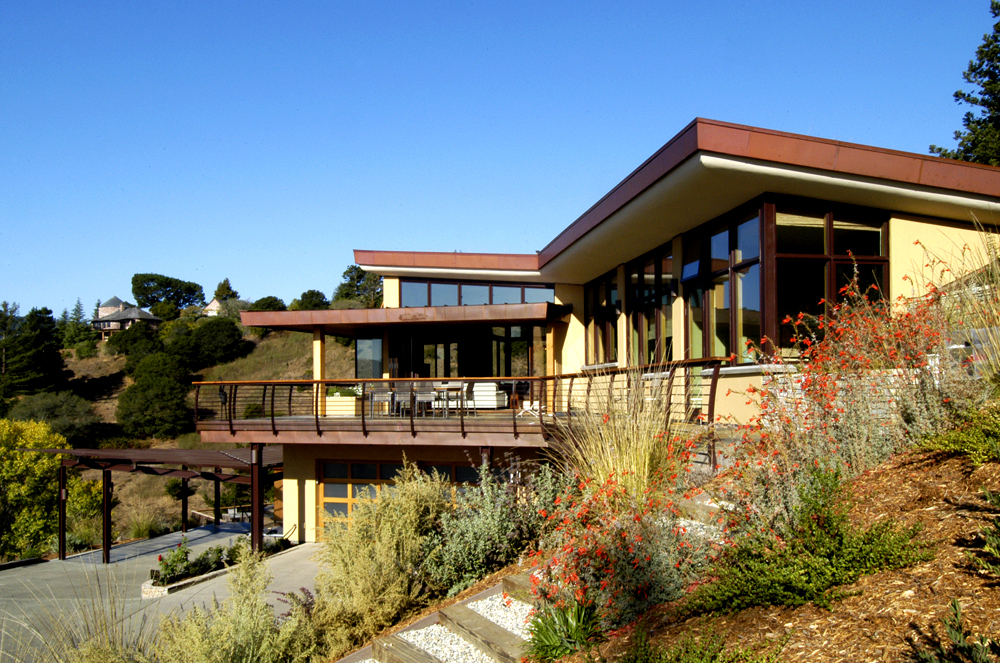 Mill Valley Hillside Mcglashan Architecture Us