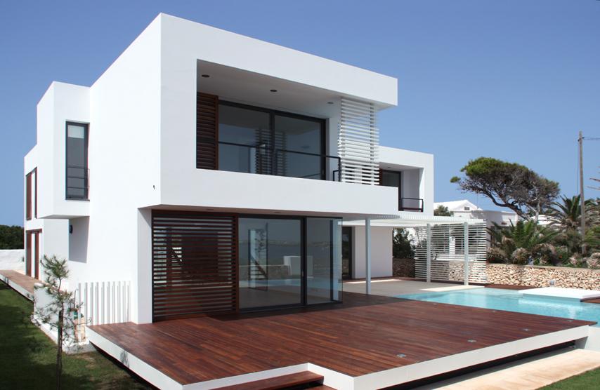 Casa en minorca dom arquitectura espa a simbiosis news for Arquitectura de espana
