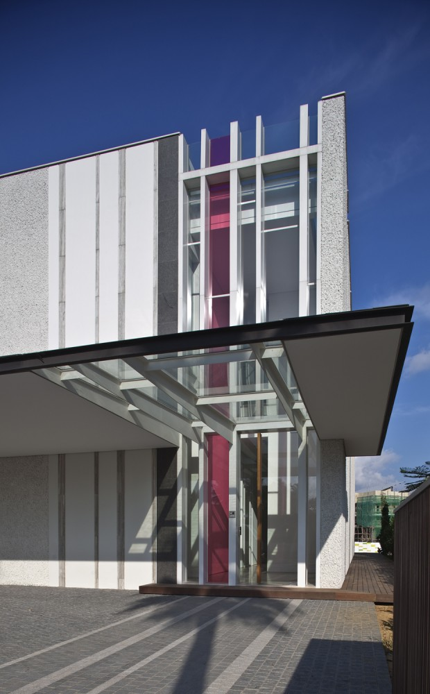 Sun cap house wallflower architecture design singapur simbiosis news - Wall flower design ...