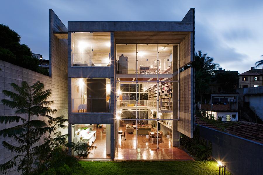 Casa es sao paulo gruposp brasil simbiosis news - The narrow house of sao paolo ...