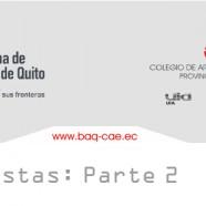 2/4 Entrevistas XVII BAQ 2010 (Bienal Panamericana de Arquitectura de Quito)