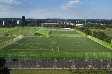 Heerenschürli Sports Facilities - Dürig AG - Suiza