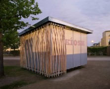 Simple-Tech-Kiosk  partnerundpartner-architekten – Alemania