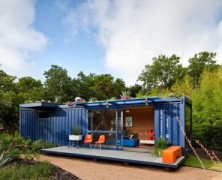Container Guest House – Poteet Architects – US