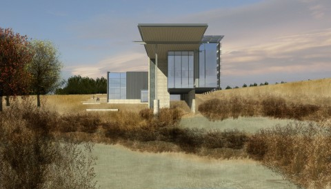 Southeast Wyoming Welcome Center - Anderson Mason Dale Architects -US