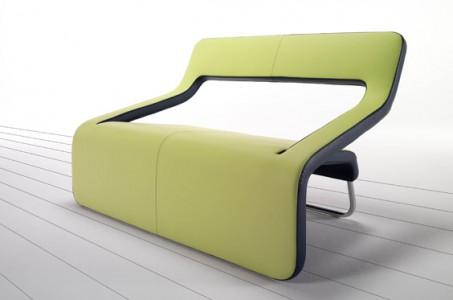 Inkline Chair by Cierre Imbottiti