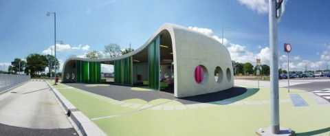 Busstop Park+Ride Citybus - LYVR - The Netherlands