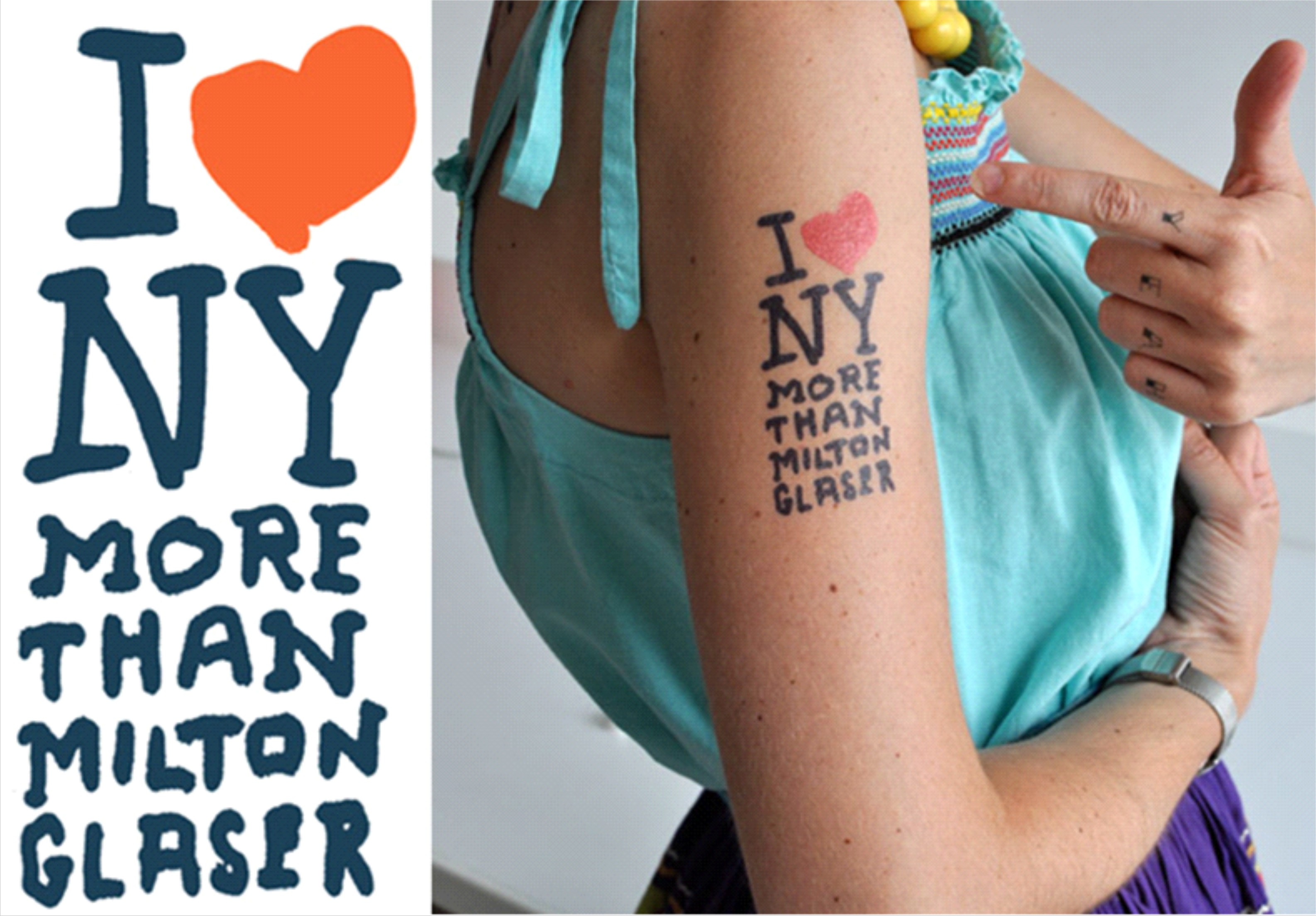 e64eb40beb16a Temporary Tattoos – James Victore, Tattly – Simbiosis News