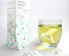 Figured tea Bags – Green Berry Tea – Russia